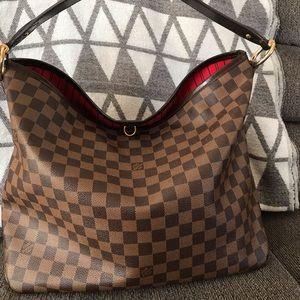 Louis Vuitton Delightful MM Damier Shoulder Bag